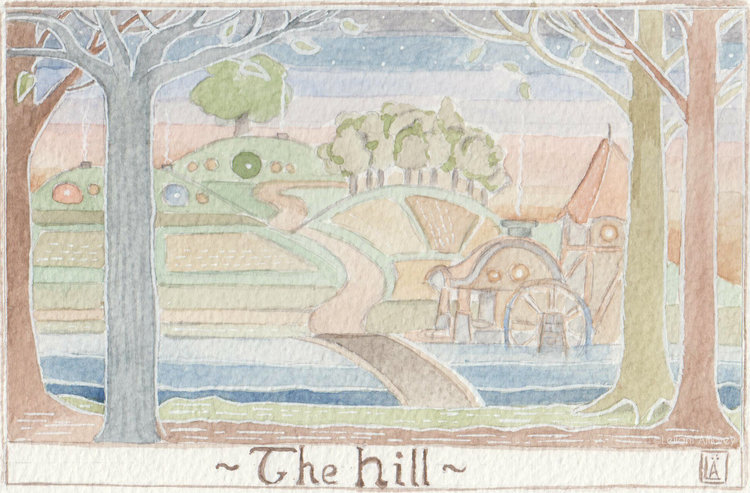 The Hill - Hobbiton Across the Water